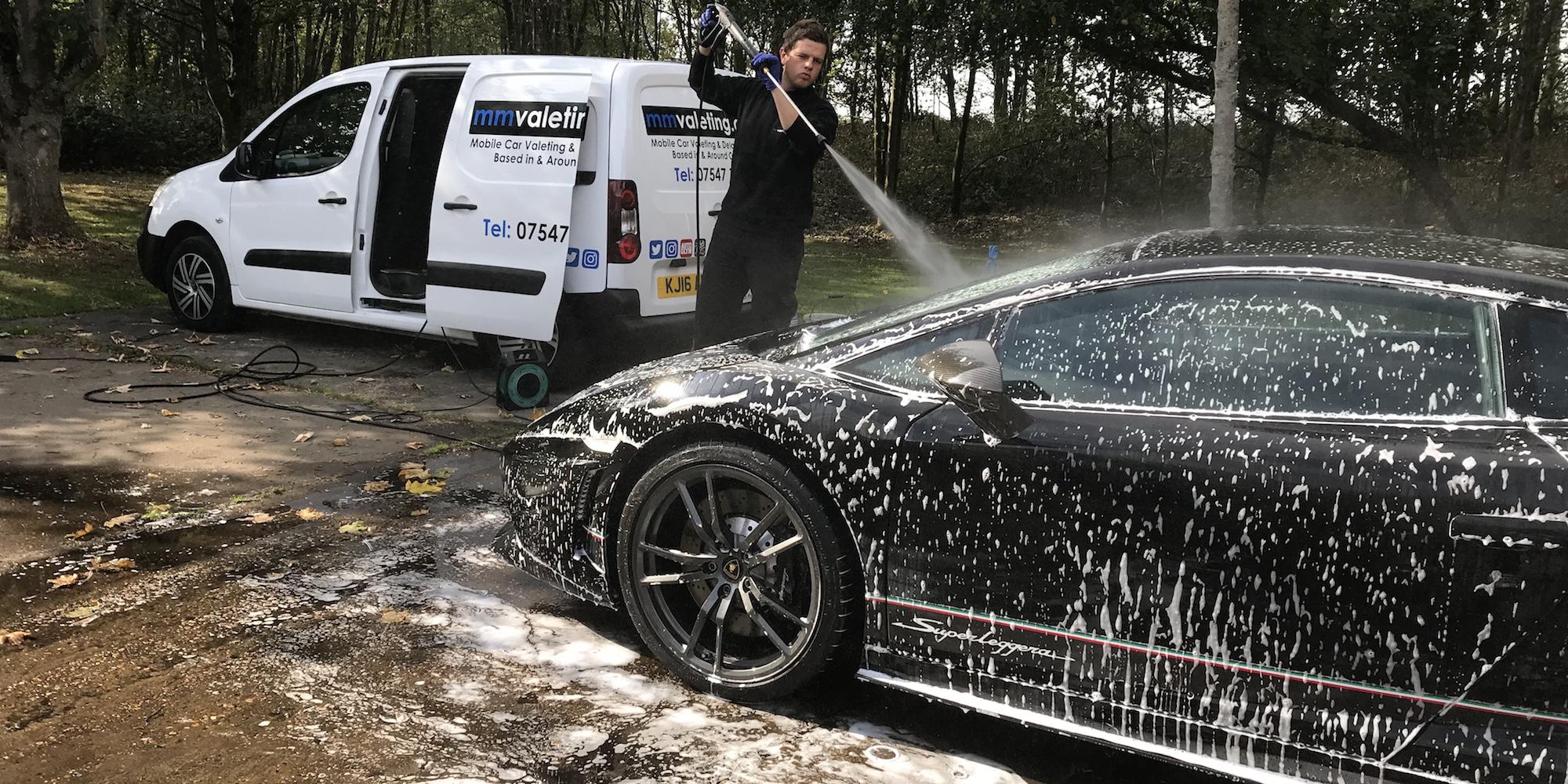 mmvaleting car valeting in Buckinghamshire