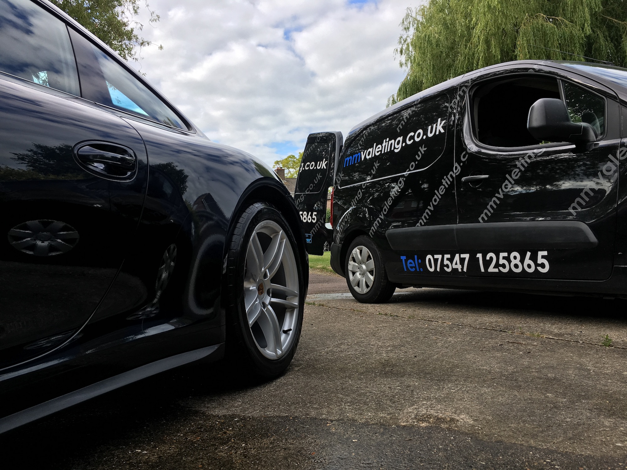 Mobile car valeting and car detailing in Thame by mmvaleting