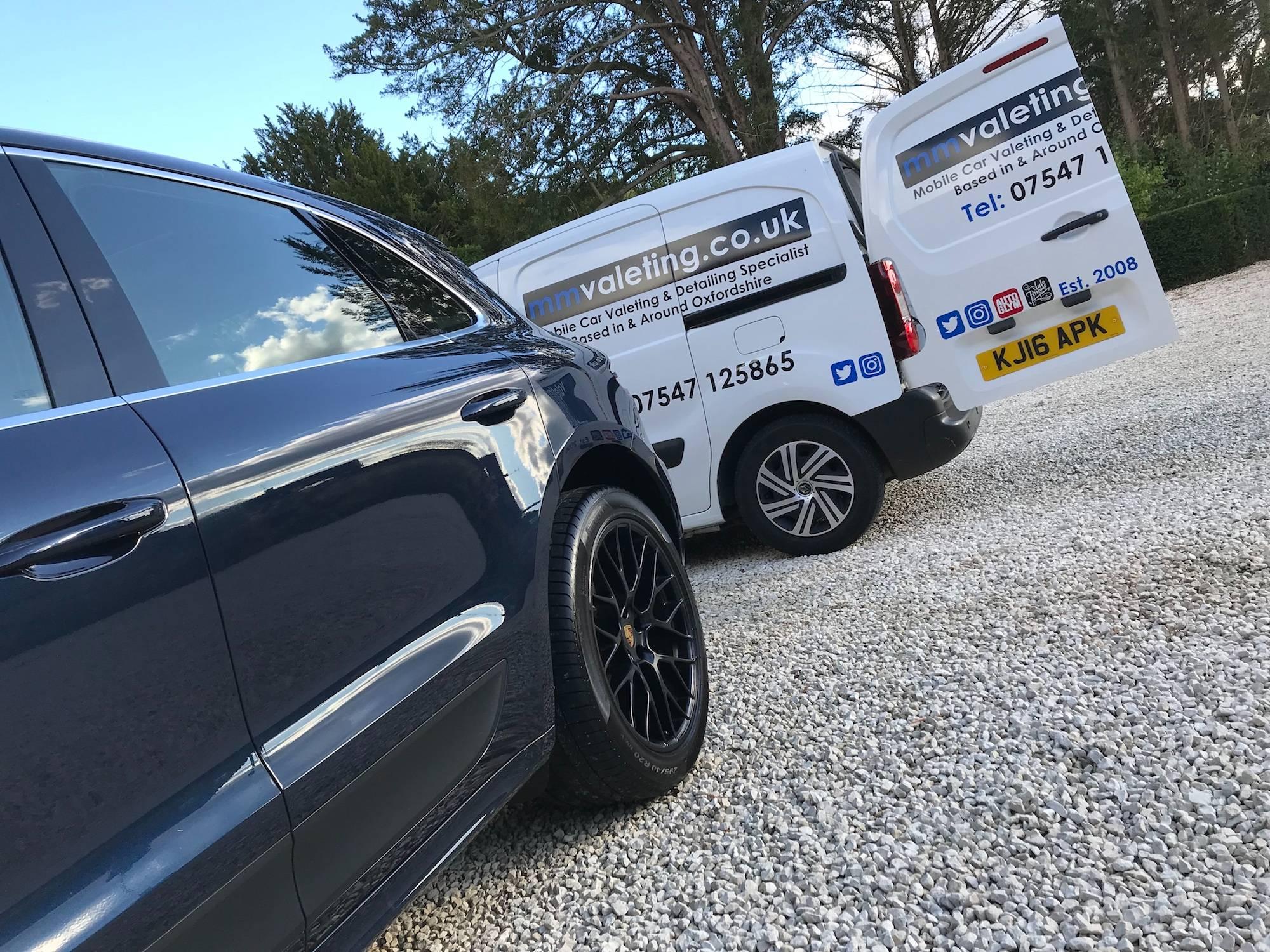 mmvaleting van - car valeting in Buckinghamshire