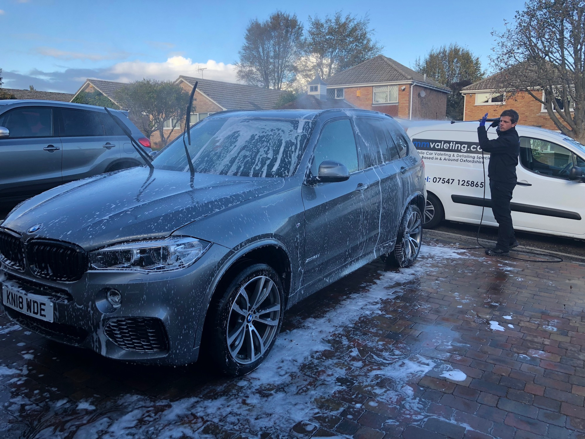 Mobile car valeting and car detailing in Oxford